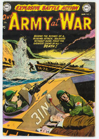 Our Army at War #6 (DC, 1953) Condition: Apparent VG/FN