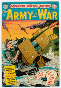 Our Army at War #20 (DC, 1954) Condition: Qualified VF+