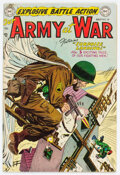 Golden Age (1938-1955):War, Our Army at War #24 (DC, 1954) Condition: FN+....