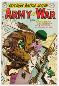 Our Army at War #24 (DC, 1954) Condition: FN+