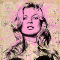 Mr. Brainwash (b. 1966) Cover Girl, 2012 Screenprint in colors on Archival Art paper 35-3/4 x 35-3/4 inches (90.8 x 9
