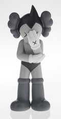 Collectible, KAWS (b. 1974). Astro Boy (Grey), 2012. Painted cast vinyl. 14-3/4 x 6 x 4-1/2 inches (37.5 x 15.2 x 11.4 cm). Stamped t...