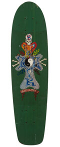 Collectible, Zephyr (Andrew Witten) (b. 1961). Untitled, 1978. Acrylic on skate deck. 30 x 8 inches (76.2 x 20.3 cm). Signed and date...