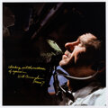 Explorers:Space Exploration, Walt Cunningham Signed and Annotated Large Apollo 7 Onboar...