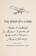 Explorers:Space Exploration, Charles Lindbergh's The Spirit of St. Louis