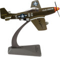 "Explorers:Space Exploration, World War II Ace C. E. ""Bud"" Anderson Signed P-51D Mustang..."