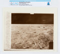"""Explorers:Space Exploration, AP Original Wirephotos: """"Moon Landing Area"""" July 29, 1969, Directly From The Armstrong Family Collection™, CAG Cer..."""