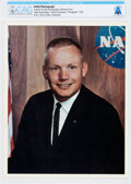 Explorers:Space Exploration, Neil Armstrong: Original NASA Color Photo, the 1962 Business Suit Pose, Directly From The Armstrong Family Collection™, CAG C...