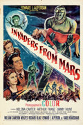 "Movie Posters:Science Fiction, Invaders from Mars (20th Century Fox, 1953). Folded, Very Fine-. One Sheet (27"" X 41"").. ..."