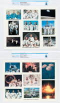 Explorers:Space Exploration, Apollo 1 Through Apollo 17 Flight Crew Composite Color Photos (Two), Directly From The Armstrong Family Collection™, CAG C... (Total: 2 Items)