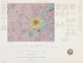 """Explorers:Space Exploration, Maps: """"Geologic Map and Sections of the Kepler Region of t..."""
