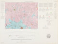"""Explorers:Space Exploration, Maps: """"Geologic Map and Sections of the Letronne Region of..."""