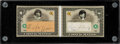 "Baseball Cards:Singles (1970-Now), 2004 Fleer Babe Ruth & Lou Gehrig ""Check Mates"" Signed 1/1..."