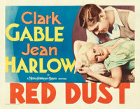 """Red Dust (MGM, 1932). Fine/Very Fine on Paper. Half Sheet (22"""" X 28"""")"""