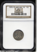 Bust Dimes: , 1830/29 10C MS61 NGC. JR-5, R.2. Due to the high quality ...