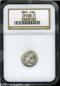 Proof Barber Dimes: , 1895 10C PR65 NGC. This is an extremely important ...