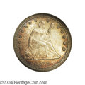 Seated Quarters: , 1878-CC 25C MS65 NGC. Briggs 1-A. While not especially ...