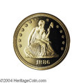 Proof Seated Quarters: , 1886 25C PR67 Cameo PCGS. The 1886 is one of the scarcest ...