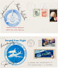 Explorers:Space Exploration, Space Shuttle Program: Crew-Signed Launch Covers from ALT-...