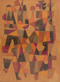 Works on Paper, Carlos Merida (Mexican, 1891- 1984). Untitled, 1982. Colored pencil on paper. 15-3/8 x 11-1/8 inches (39.1 x 28.3 cm). S...