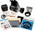 Explorers:Space Exploration, Alan Bean's Complete Personal Camera Outfit consisting of a Hasselblad 500C Camera Body, Zeiss Planar f/2.8 80mm Lens, Meter P...