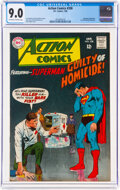 Silver Age (1956-1969):Superhero, Action Comics #358 (DC, 1968) CGC VF/NM 9.0 Off-white to white pages....
