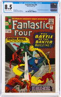 Silver Age (1956-1969):Superhero, Fantastic Four #40 (Marvel, 1965) CGC VF+ 8.5 Off-white to white pages....