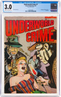 Golden Age (1938-1955):Crime, Underworld Crime #7 (Fawcett Publications, 1953) CGC GD/VG 3.0 Cream to off-white pages....