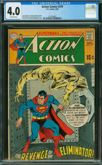 Action Comics #379 (DC, 1969) CGC VG 4.0 OFF-WHITE pages