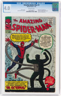 Silver Age (1956-1969):Superhero, The Amazing Spider-Man #3 (Marvel, 1963) CGC VG 4.0 Off-white pages....