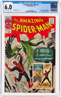 Silver Age (1956-1969):Superhero, The Amazing Spider-Man #2 (Marvel, 1963) CGC FN 6.0 Off-white to white pages....