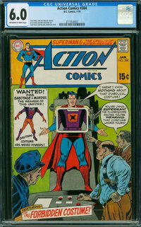 Action Comics #384 (DC, 1970) CGC FN 6.0 OFF-WHITE TO WHITE pages