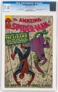 Silver Age (1956-1969):Superhero, The Amazing Spider-Man #6 (Marvel, 1963) CGC FN/VF 7.0 Cream to off-white pages....