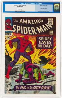 The Amazing Spider-Man #40 (Marvel, 1966) CGC VF/NM 9.0 Off-white pages