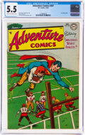 Golden Age (1938-1955):Superhero, Adventure Comics #207 (DC, 1954) CGC FN- 5.5 Cream to off-white pages....