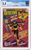 Silver Age (1956-1969):Superhero, Detective Comics #359 (DC, 1967) CGC GD+ 2.5 Off-white pages....