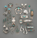 American Indian Art:Jewelry and Silverwork, 22 Southwest Jewelry Items ... (Total: 22 )