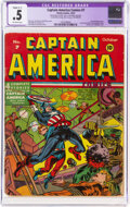 Golden Age (1938-1955):Superhero, Captain America Comics #7 (Timely, 1941) CGC Apparent PR 0.5 Slight (C-1) Off-white pages....