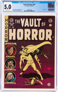 Golden Age (1938-1955):Horror, Vault of Horror #40 (EC, 1954) CGC VG/FN 5.0 Off-white pages....