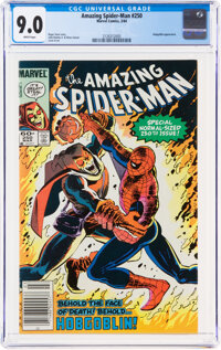 The Amazing Spider-Man #250 (Marvel, 1984) CGC VF/NM 9.0 White pages