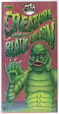 Memorabilia:Science Fiction, The Creature From the Black Lagoon Wind-Up Tin Robot Toy (Universal Studios Monsters/Robot Mouse, 1991)....