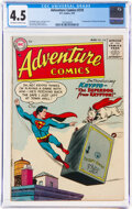 Golden Age (1938-1955):Superhero, Adventure Comics #210 (DC, 1955) CGC VG+ 4.5 Off-white to white pages....