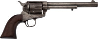 4-Digit 7th Cavalry Custer U.S. Colt Single Action Army Revolver