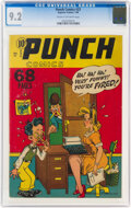 Golden Age (1938-1955):Humor, Punch Comics #23 (Chesler, 1948) CGC NM- 9.2 Cream to off-white pages....