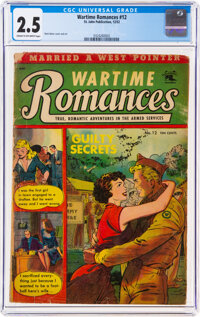 Wartime Romances #12 (St. John, 1952) CGC GD+ 2.5 Cream to off-white pages