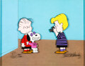 Animation Art:Limited Edition Cel, Peanuts You're Not Elected, Charlie Brown