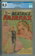Golden Age (1938-1955):Romance, Dear Beatrice Fairfax #5 - Single highest graded copy. (Standard, 1950) CGC VF+ 8.5 White pages.