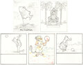 """Animation Art:Production Drawing, Bedknobs and Broomsticks """"Land of Na..."""