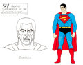 Animation Art:Color Model, Challenge of the Superfriends Bizarr...
