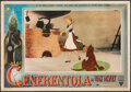 "Movie Posters:Animation, Cinderella (RKO, 1950). Fine/Very Fine. Italian Photobusta (13.25"" X 19.25""). Animation.. ..."